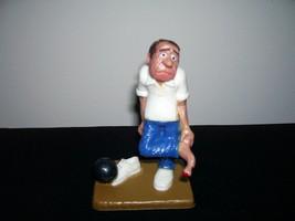 Wilton Vintage Bumbling Bowler Bowling 1983 Topper Cake Supplies Award G... - $11.87