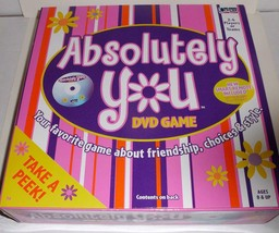 Absolutely You, Dvd Game, Your Favorite Game About Friendship, Choices & Style - $17.41