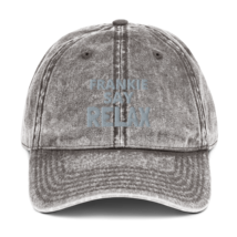 Frankie SAY RELAX hat / Vintage Cotton Twill Cap image 3