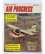 Vintage AIR PROGRESS Aviation Airplane Magazine Summer 1962 Edition - $9.89