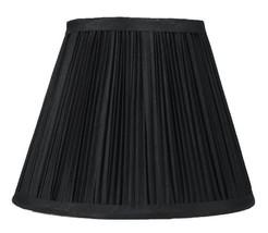 Urbanest Mushroom Pleated Softback Lamp Shade, Faux Silk, 5-inch by 9-in... - $17.81
