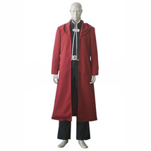 FullMetal Alchemist Edward Elric Cosplay Costume Men Outfit - $86.00