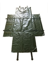 CARRY BAG CAMO NET US MILITARY WATERPROOF TARP SHELTER GROUND COVER SHOO... - $19.83