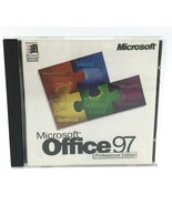 Microsoft Office 97 Professional Edition SR-1 CD Key Word Excel PowerPoint - $12.99