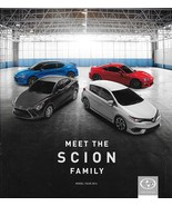 2016 SCION full line sales brochure catalog US FR-S tC iM iA Toyota GT 86 - $10.00