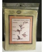 Game Bird Flight - COUNTED CROSS STITCH KIT  - $3.00