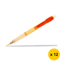 Pilot Super Grip Neon H-187N 0.7mm Mechanical Pencil (12pcs), Orange, H-... - $28.99