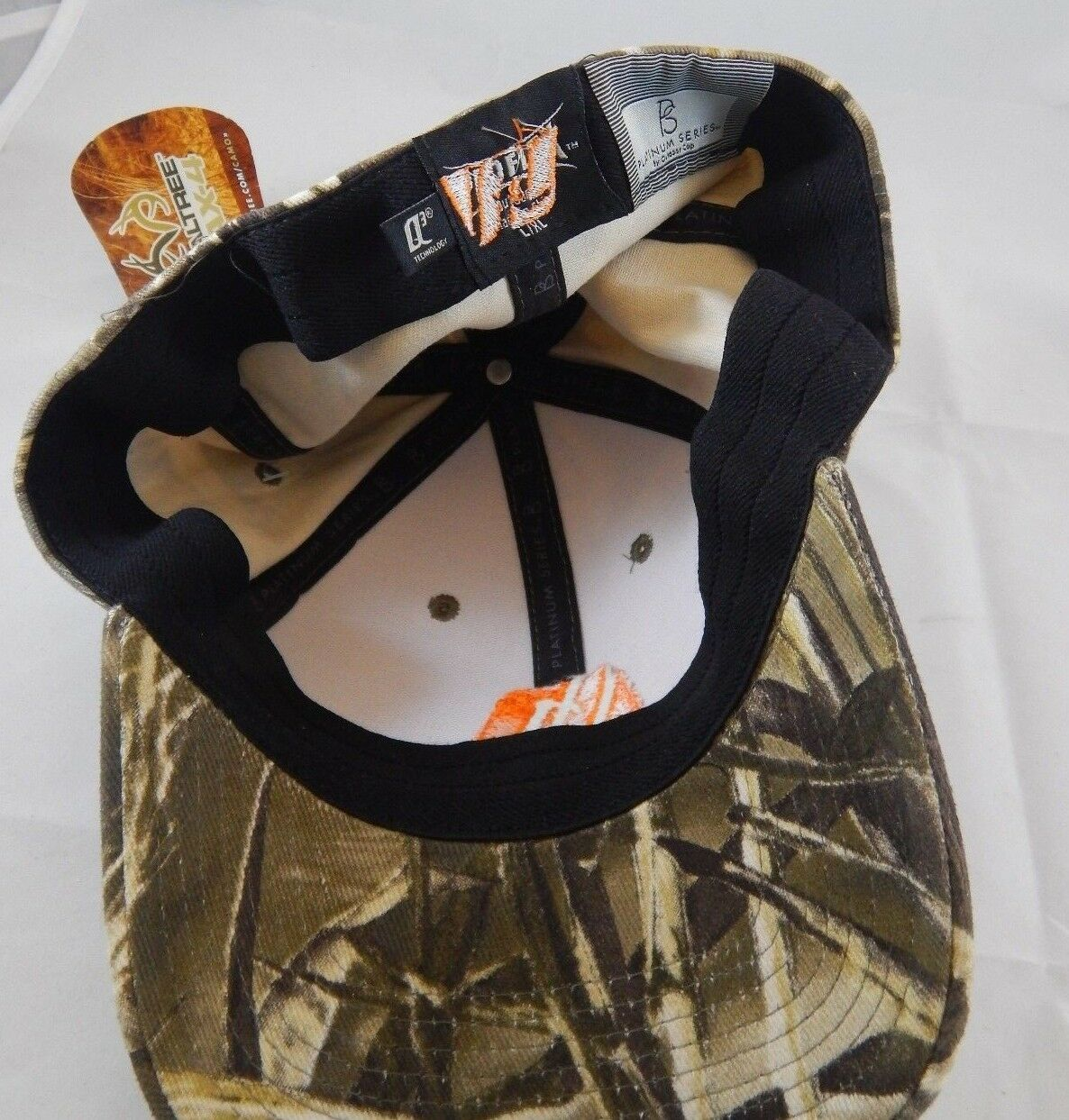 MICON Mining Realtree Max-4 Camouflage Ball Cap Camo Hat ProFlex Fit