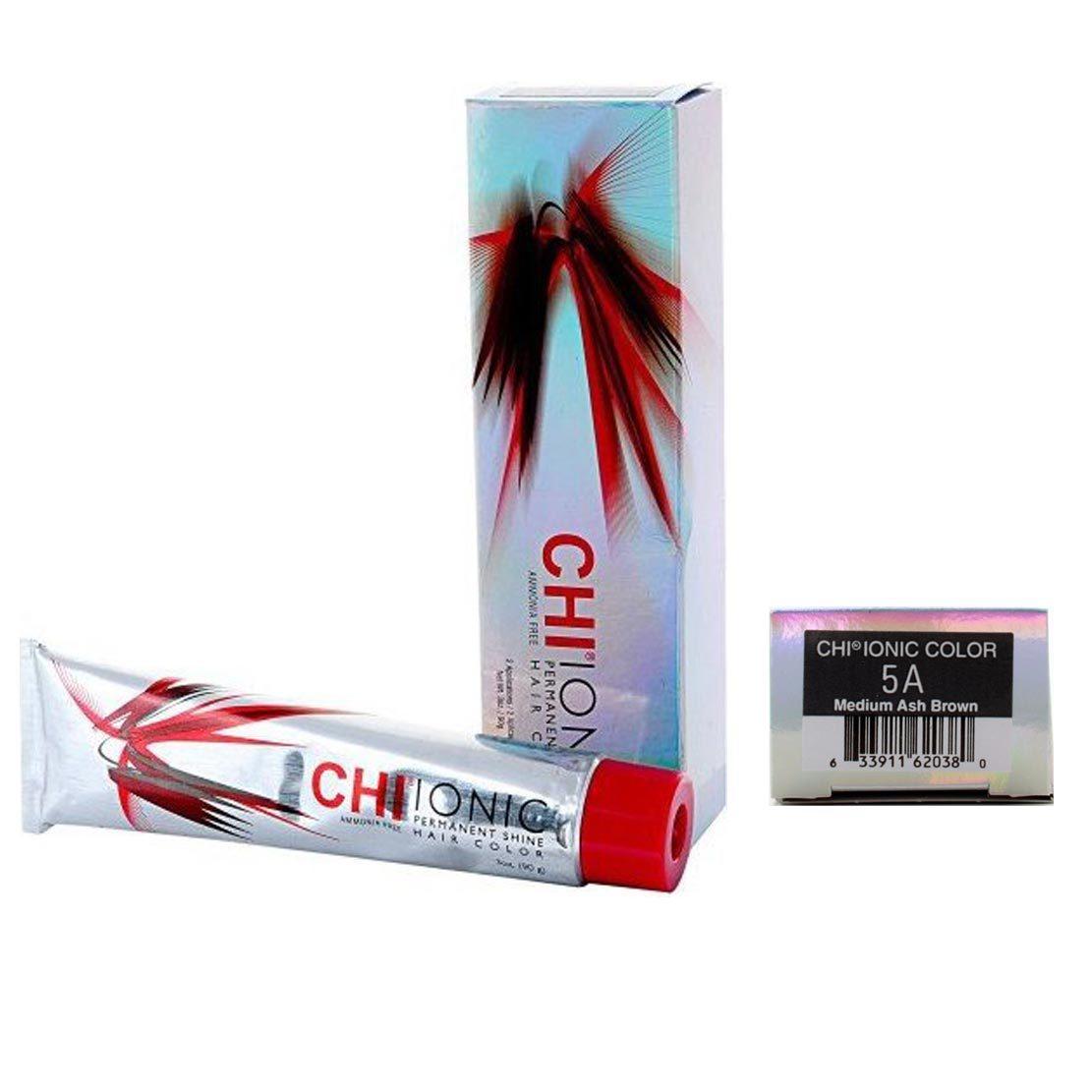 Farouk CHI Ionic Permanent Shine Color Medium Ash Brown 5A 3oz