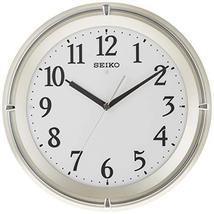 Seiko Clock Clock Standard Automatic Full Lighting Radio Waves Hanging Clock (Li - $149.84