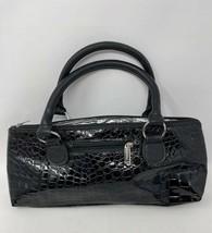 Primeware Insulated Thermal Wine Clutch Bag Tote Black Croc - $9.89