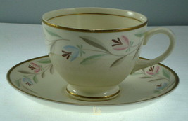 Homer Laughlin Nantucket N1753 Cup and Saucer - $9.27