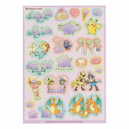 Pokemon Center Original A5PET seal Metamon's Mont
