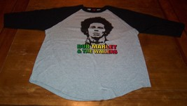 VINTAGE 70's STYLE BOB MARLEY & THE WAILERS Long Sleeve T-Shirt XL NEW - $19.80