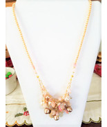 Pink Opal beaded Necklace - $75.00