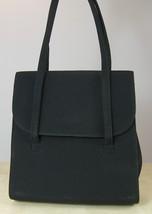 NINE WEST Black Microfiber Evening Handbag Purse - $12.35