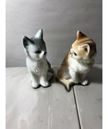 Vintage Careamic Cat Figurines - - $14.03