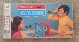Vintage 1967 Battleship Board Game From Milton Bradley 4730 Made in USA Complete - $17.56