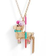 Kate Spade New York Necklace Haute Stuff Penny Pinata Pendant - $84.14