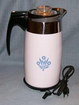 Corning Ware BLUE CORNFLOWER Electric Coffee Pot/Percolator 10 cup P-80-EP EUVC image 15