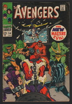 THE AVENGERS #54, 1968, Marvel, VG/VG+ CONDITION COPY, 1st Appearance of... - $54.45