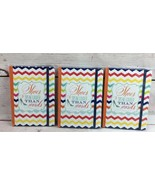 3 Pier1 Journal Chevron 5x7 With Elastic Closure (Diary, Journal, Blank)... - $19.79