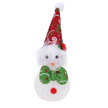 (red)Hot Christmas Decoration LED Lighting Flash Xmas Tree Hanging Penda... - $14.00