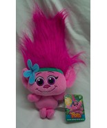"Hasbro DreamWorks Trolls BABY POPPY PINK TROLL 11"" Plush STUFFED ANIMAL ... - $18.32"