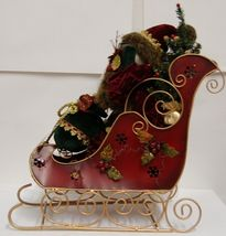 Sterling Brand Santa Riding Sleigh Christmas Decoration Product Number 5201012 image 4
