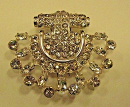 EISENBERG original STERLING  fur clip in great condition without damage - $128.69
