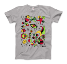 Joan Miro Peces de Colores (Colorful Fish) Artwork T-Shirt - $19.75+