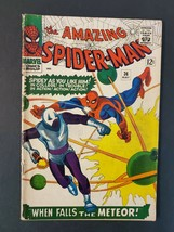 AMAZING SPIDER-MAN #36 2.5 GD+ 1ST LOOTER UNPRESSED MARVEL SILVER COMIC - $33.85