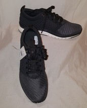 Reebok Womens Print Athlux Weave Running Shoes Sneaker Size 8 Color Coal... - $65.99