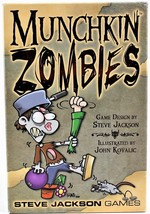 Munchkin Zombies Color Card Game Steve Jackson Games - $15.83