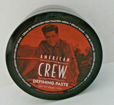 American Crew Hair Defining Paste Elvis Presley Logo Limited Edition Med... - $9.89