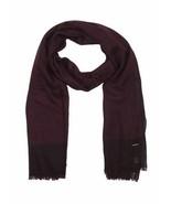 Écharpe unisexe Diesel Shea 00SLBA en laine violette - $82.66
