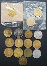 Lot of 16x Canadian Tokens, Medals, Trade Dollars - Various Dates - $11.67