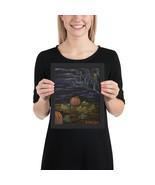 """Framed poster Print """"Hookins Patch"""" - $51.00+"""
