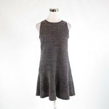 Mauve purple multicolor space dyed tweed ANN TAYLOR LOFT shift dress XS - $29.99