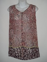 Cabi Size SMALL S Beguile Button Up Top Style #108  - $23.12