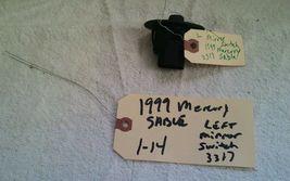 99 Mercury sable left power mirror adjustment switch. image 3