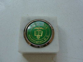 AMRA 1979 Washington, D.C marble paperweight, old - $23.31