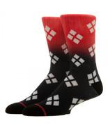 Harley Quinn Ombre Crew Socks - $13.88