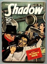 Shadow 1941 May 1-Great cover- Street And SMITH-RARE Pulp FN- - $230.38