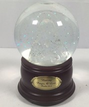 San Francisco Music Box Co ADAMS Snow Globe Praying Madonna Psalm 86:6 L... - $34.65
