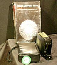 Vivitar Electronic Flash 292 with carrying case AA-192040 Vintage image 4