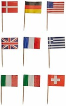 International Flag Picks (asstd designs) (50/Pkg) - $3.80