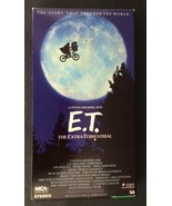 E.T. The Extra-Terrestrial VHS 1988 ET Henry Thomas, Drew Barrymore - $6.50