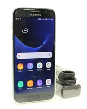 Samsung Galaxy S7  - 32GB 4G (GSM UNLOCKED) Smartphone - Black - SM-G930W8