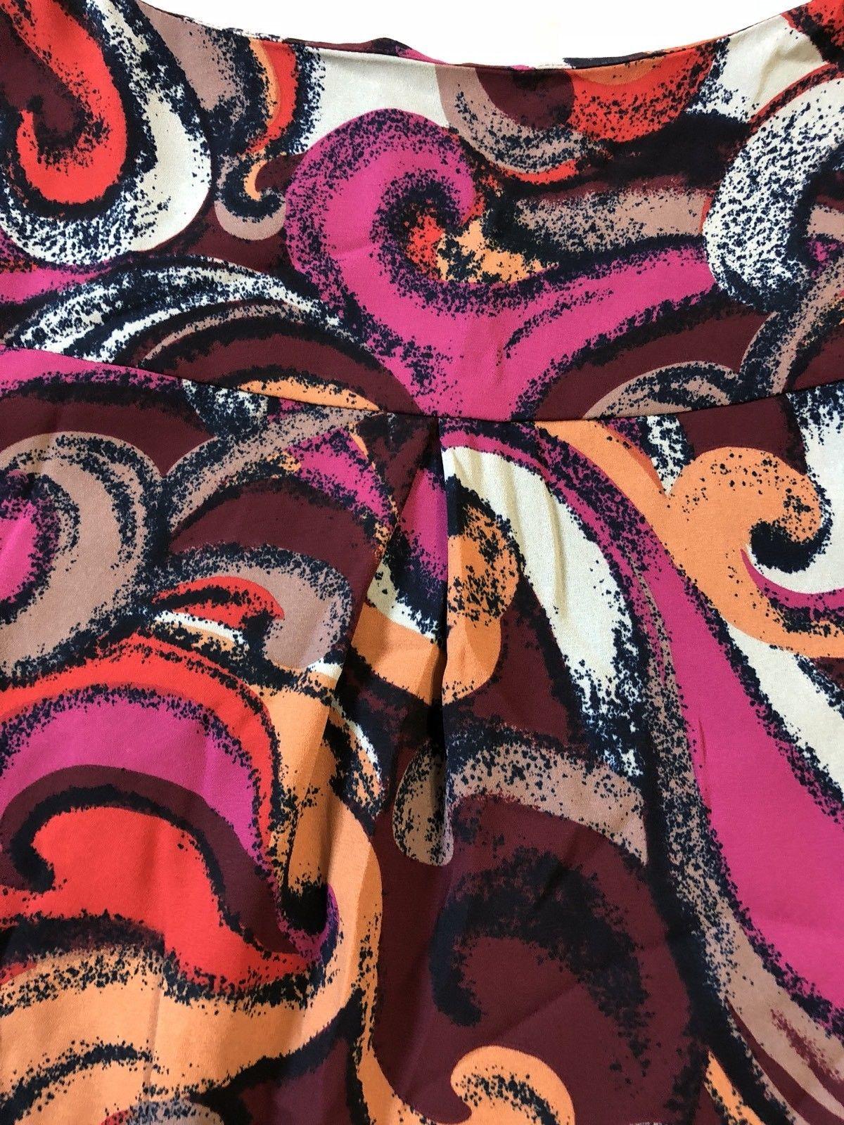Maeve Anthropologie Flavia Multicolor Shift Dress Size Small